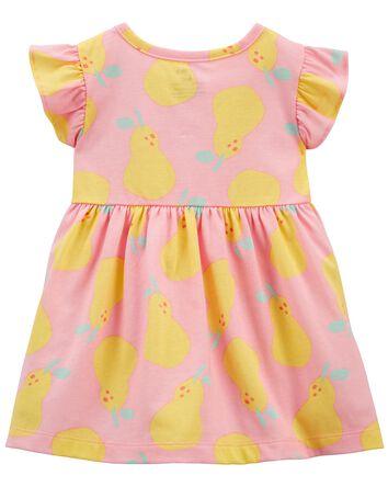 2-Piece Lemon Dress & Legging Set