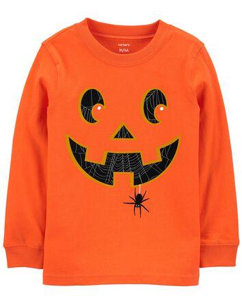 Haut en jersey d'Halloween qui bril...