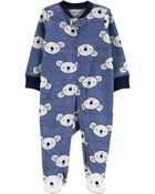 Koala 2-Way Zip Cotton Sleep & Play, , hi-res