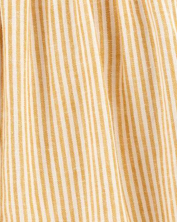 Striped Linen Top