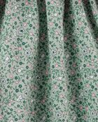 3-Piece Fuzzy Vest & Dress Set, , hi-res