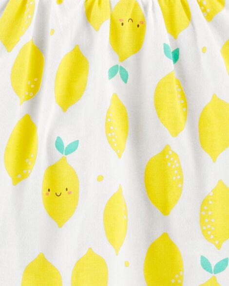 Lemon Jersey Sunsuit