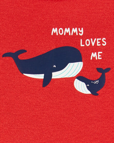 5-Pack Whale Tank Bodysuits