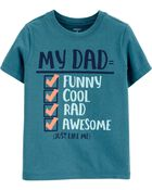 T-shirt en jersey Dad Checklist, , hi-res
