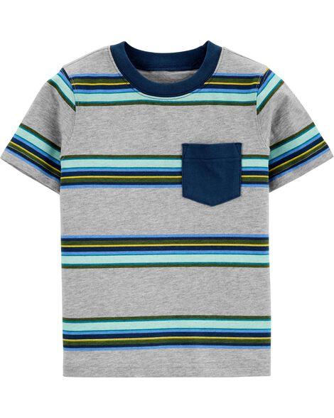 Striped Pocket Jersey Tee