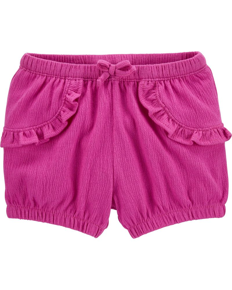 Crinkle Jersey Bubble Shorts, , hi-res