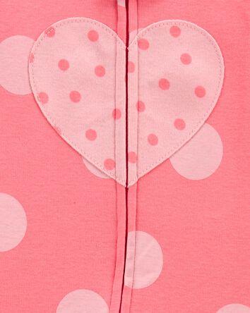 1-Piece Heart 100% Snug Fit Cotton...