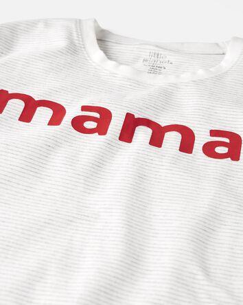 T-shirt en coton biologique Mama