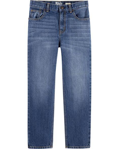Jeans droit - délavage bleu ancre foncé