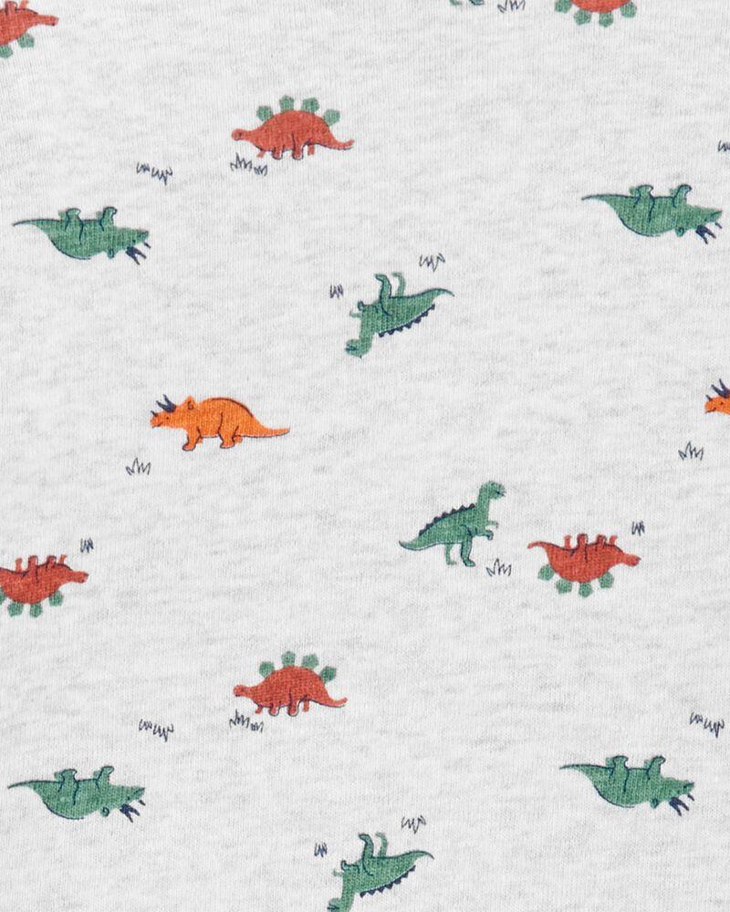 Ensemble 3 pièces gilet avec dinosaures, , hi-res
