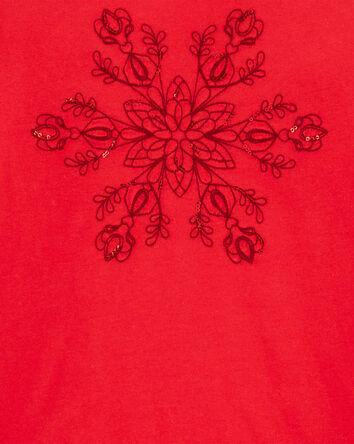 T-shirt flocon de neige