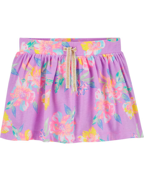 Floral Scooter Skirt