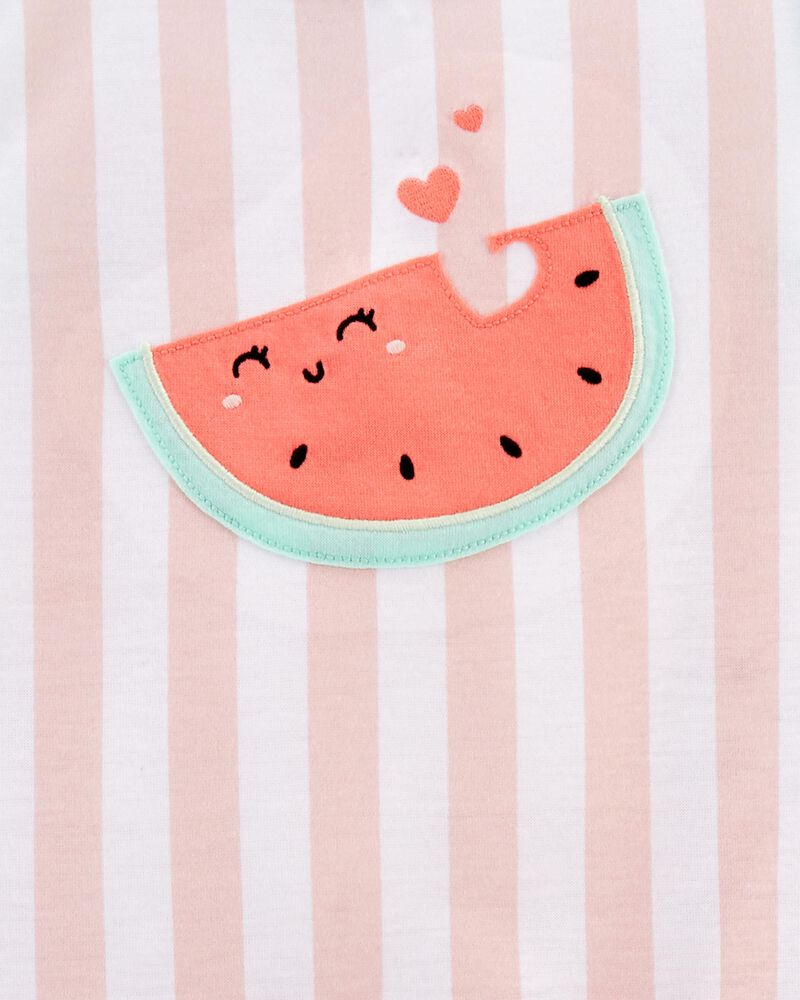 3-Piece Watermelon Loose Fit PJs, , hi-res