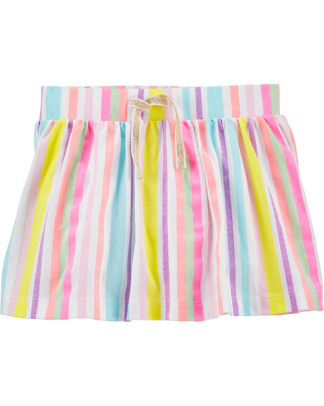 Rainbow Stripe Scooter Skirt