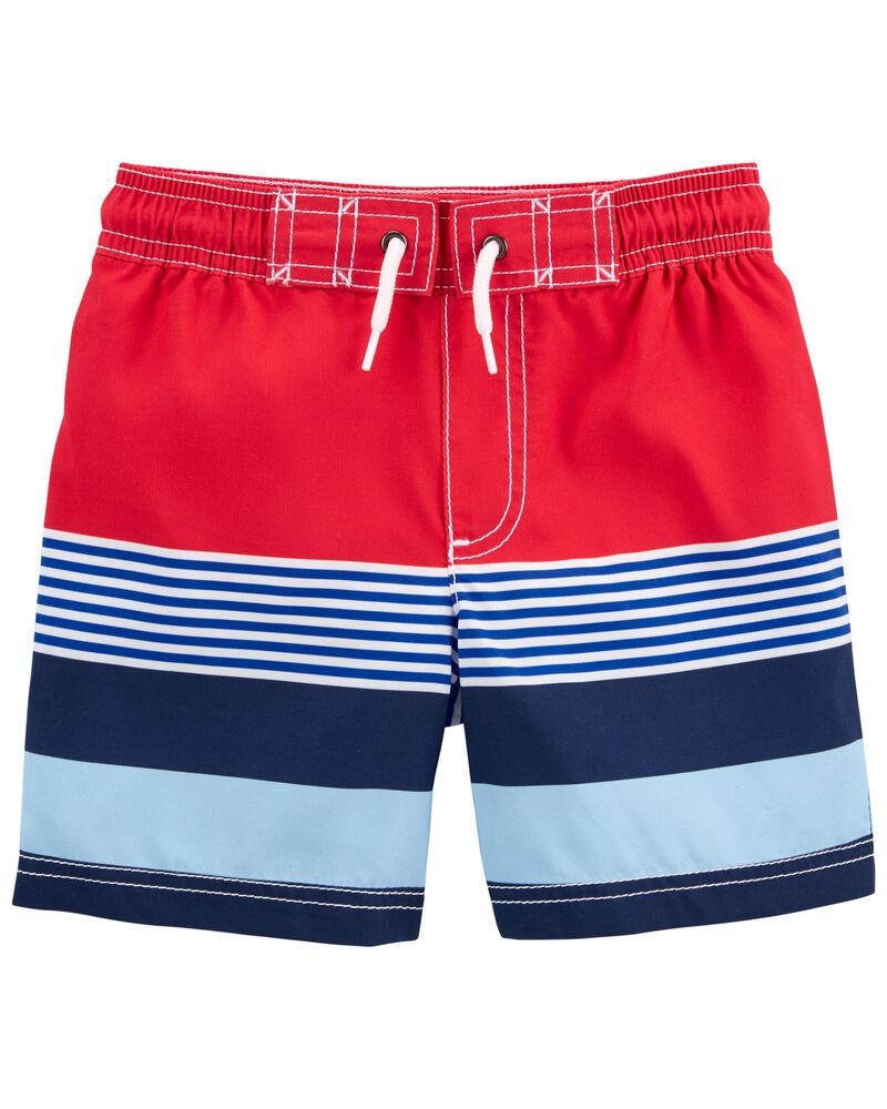 Carter's Striped Swim Trunks, , hi-res