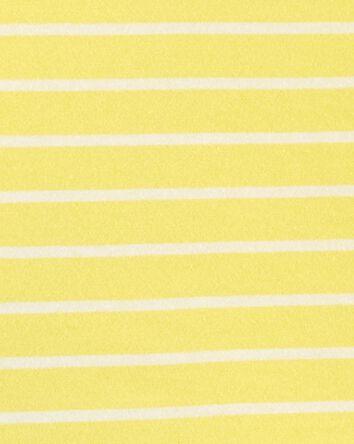 2-Piece Striped Polo & Short Set