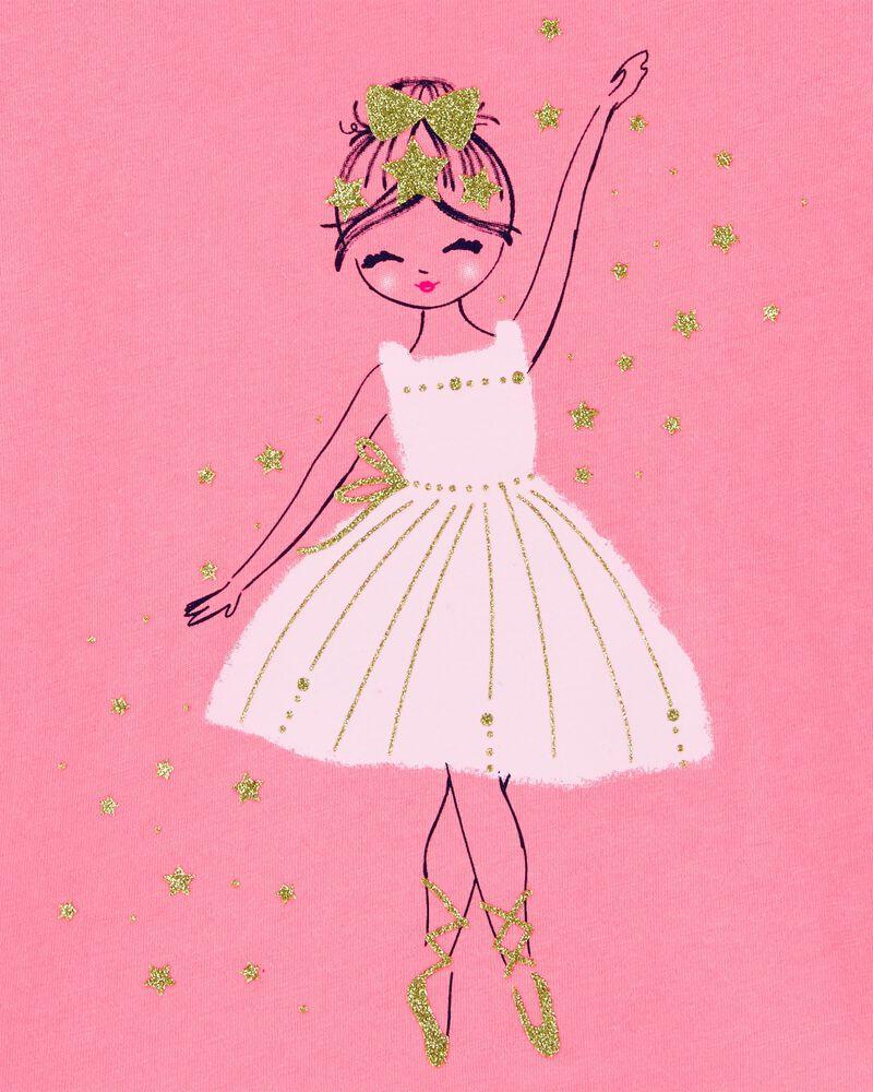 Glitter Ballerina Jersey Tee, , hi-res