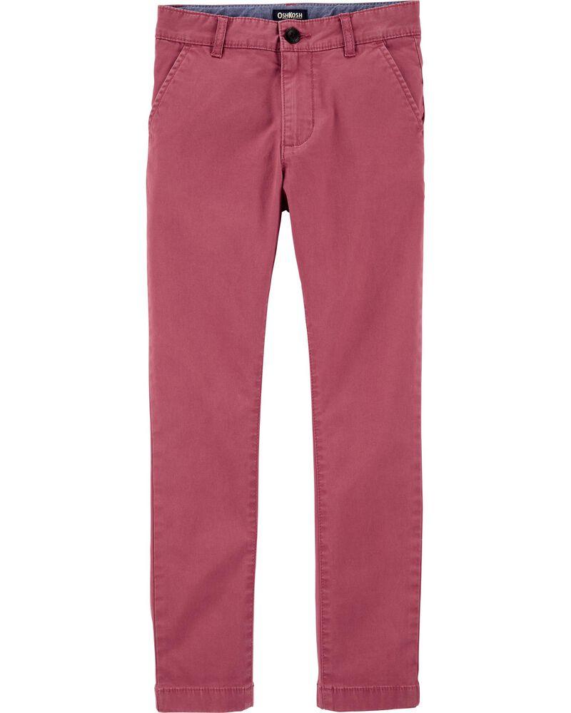 Pantalon en coutil extensible, , hi-res