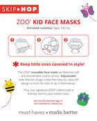ZOO® Kids' Face Masks – Dino, , hi-res