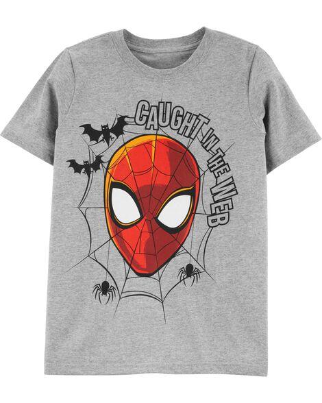 T-shirt d'Halloween Spider-Man qui brille dans le noir