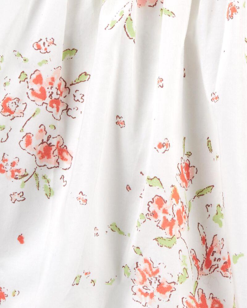 Robe volantée fleurie, , hi-res