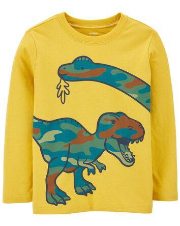 T-shirt en jersey avec dinosaure