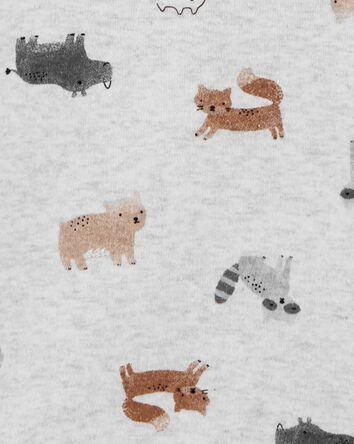 4-Pack Animal Print Original Bodysu...