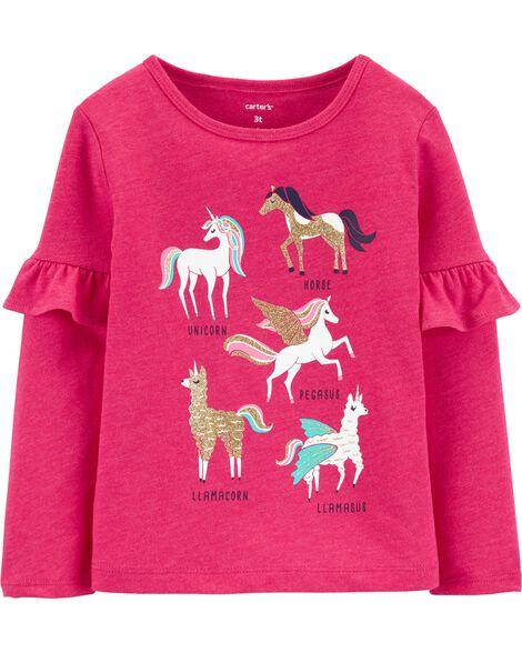 Horse & Unicorn Jersey Tee