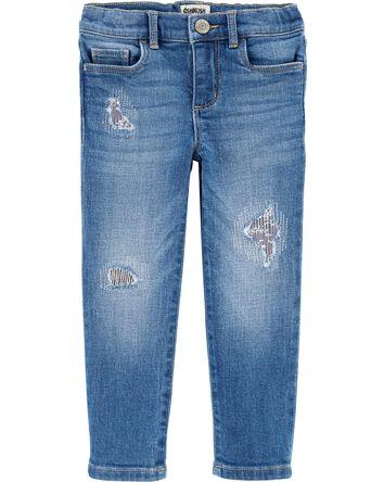 Jeans décontracté vintage