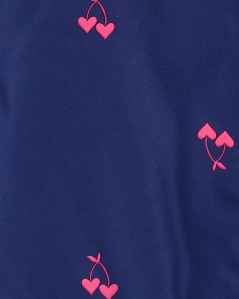 Reversible Cherry Heart Print Midweight Jacket, , hi-res