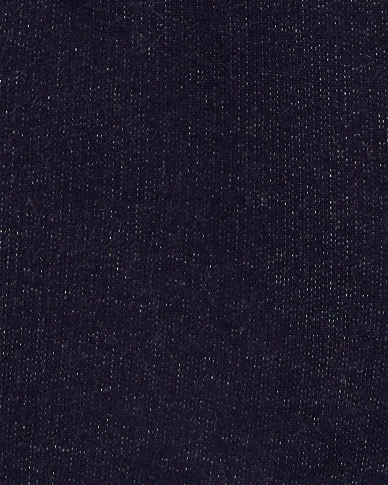 2-Piece Tee & Knit Denim Shortalls, , hi-res