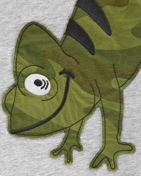 2-Piece Chameleon Jersey Tee & Camo Short Set