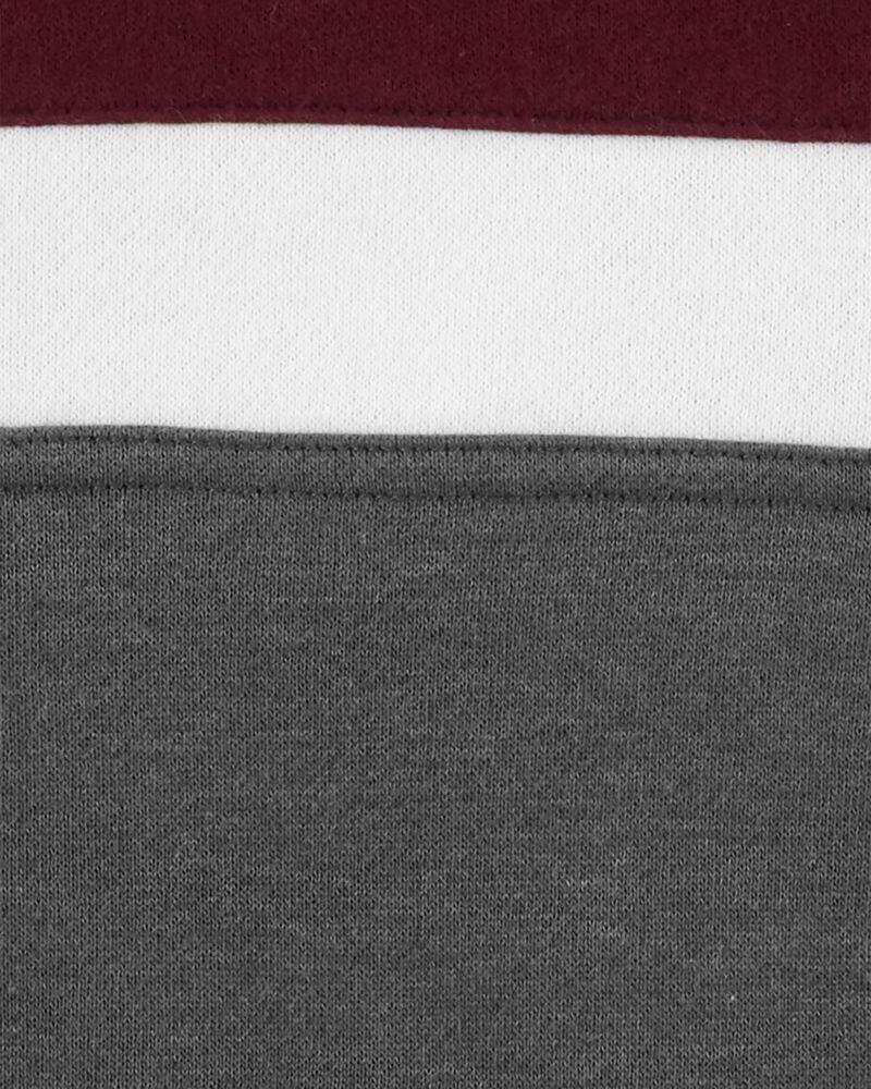Colourblock Logo Fleece Hoodie, , hi-res