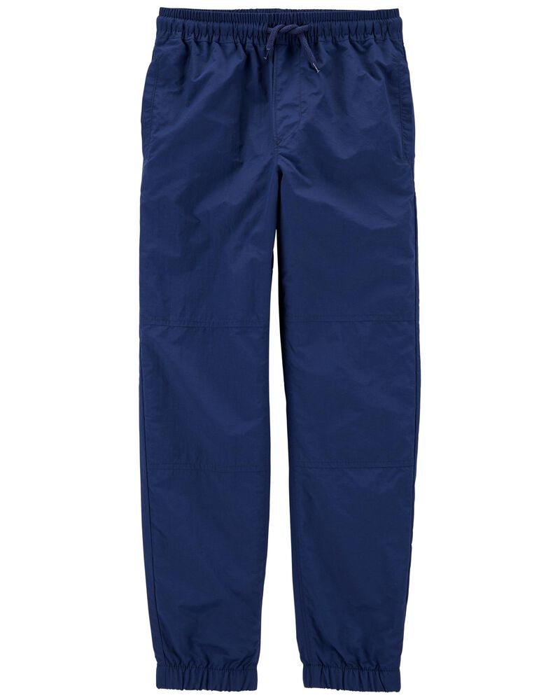 Jersey-Lined Active Pants, , hi-res