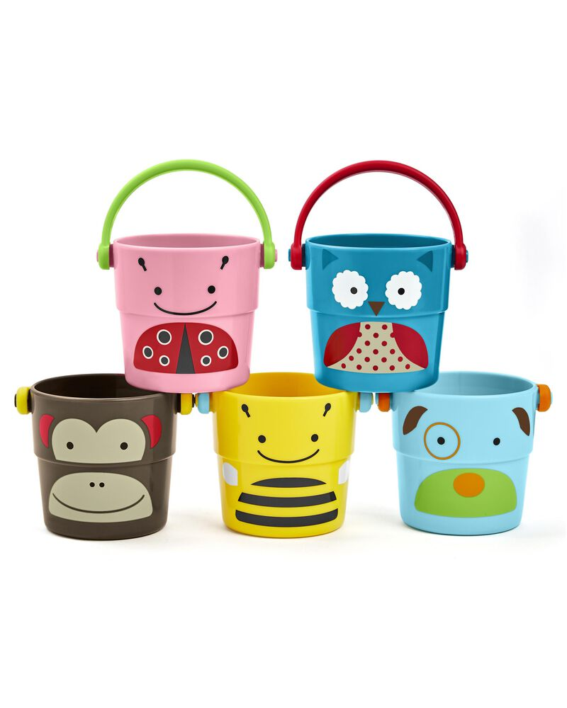 Zoo Stack & Pour Buckets, , hi-res