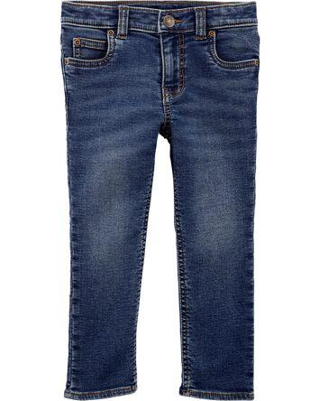 Jeans à 5 poches de coupe fuseau