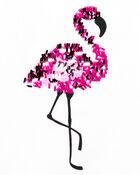 Flamingo Sequin Tee, , hi-res