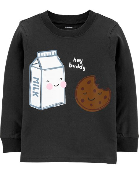 Milk and Cookie Jersey Tee
