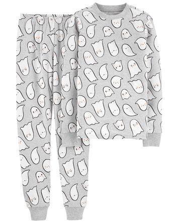 Pyjama 2 pièces unisexe en coton aj...