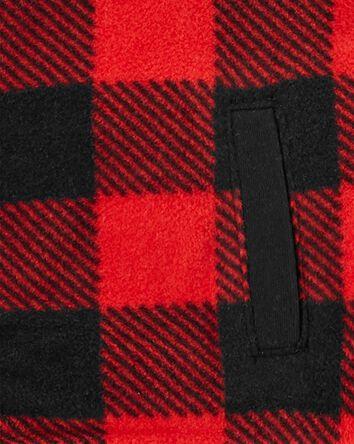 3-Piece Buffalo Check Little Vest S...