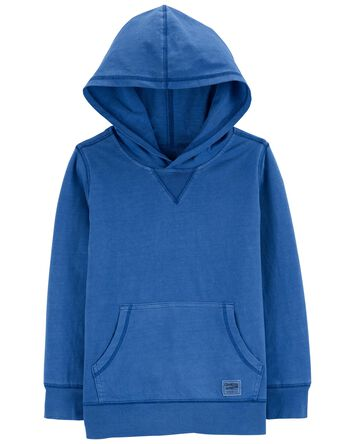 Garment-Dyed Jersey Hoodie