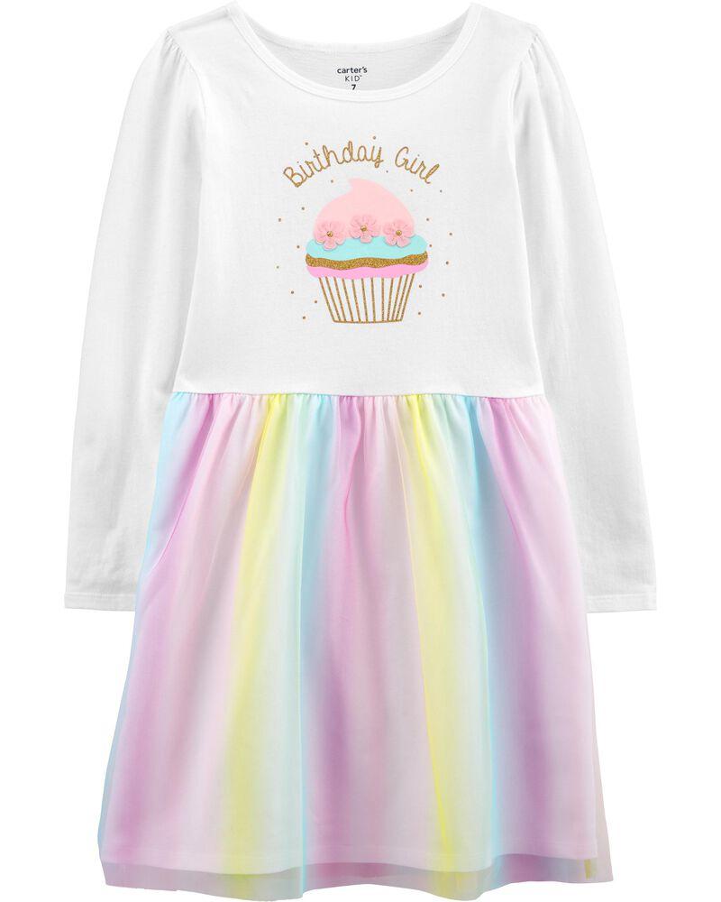 Robe à tutu Birthday Girl, , hi-res