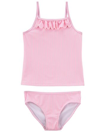 Striped 2-Piece Tankini