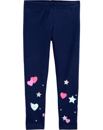 Legging à motif d'étoiles