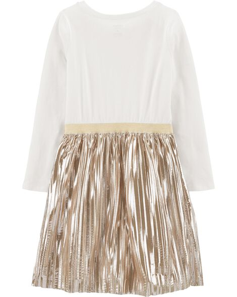 Star Holiday Skirt Dress