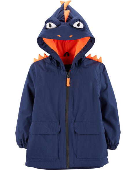 Fleece-Lined Monster Rain Jacket