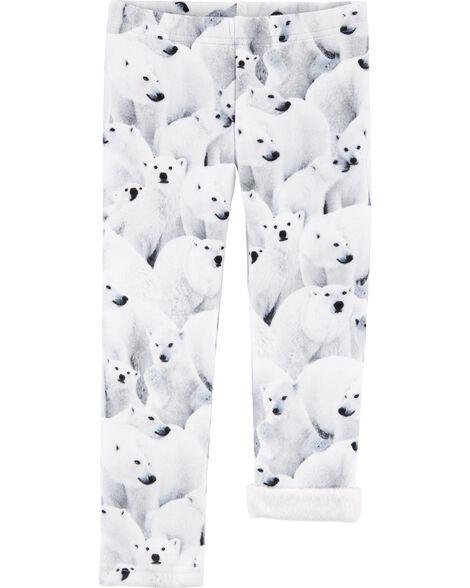 Polar Bear Cozy Fleece Leggings
