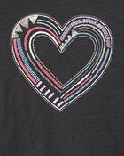 Slub Jersey Embroidered Hoodie, , hi-res