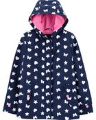 Butterly Colour-Changing Raincoat, , hi-res