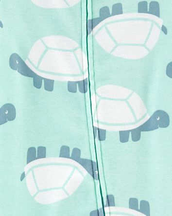 Turtle 2-Way Zip Cotton Sleep & Pla...